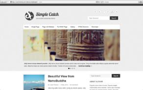 Simple Catch WordPress Popular Theme