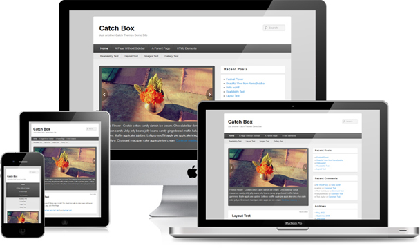 Catch Box Responsive Design